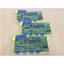 (3) Fanuc A16B-2200-025 Circuit Boards