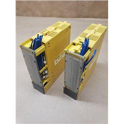 (2) Fanuc A03B-0819-C104 Input Modules