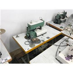 KANSAI SPECIAL W-8102-IS SINGLE NEEDLE INDUSTRIAL  SEWING MACHINE (PARTS MISSING)