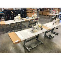 JUKI DDL-555ON-7 SINGLE NEEDLE INDUSTRIAL SEWING MACHINE WITH JUKI CP-160 DIGITAL DISPLAY