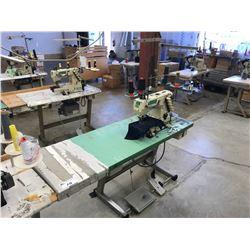 YAMATO VC-2700-156M  INDUSTRIAL CUFF  SEWING MACHINE