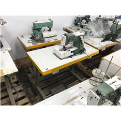 KANSAI SPECIAL DPW-1302-W  SINGLE NEEDLE INDUSTRIAL  SEWING MACHINE (PARTS MISSING)