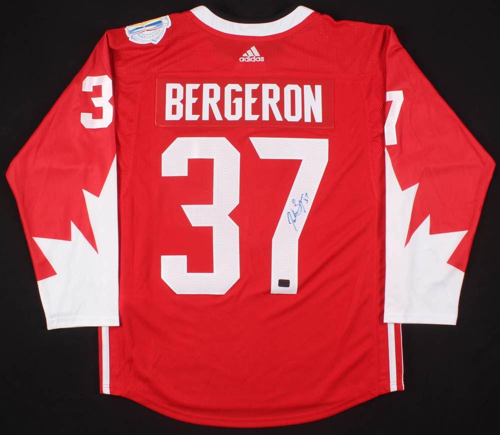 bergeron team canada jersey