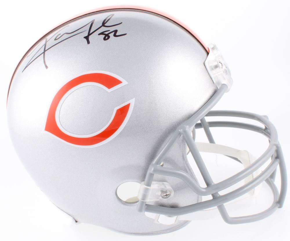buy online 9a604 7ccce Khalil Mack Signed Chicago Bears Full-Size Helmet (JSA COA)