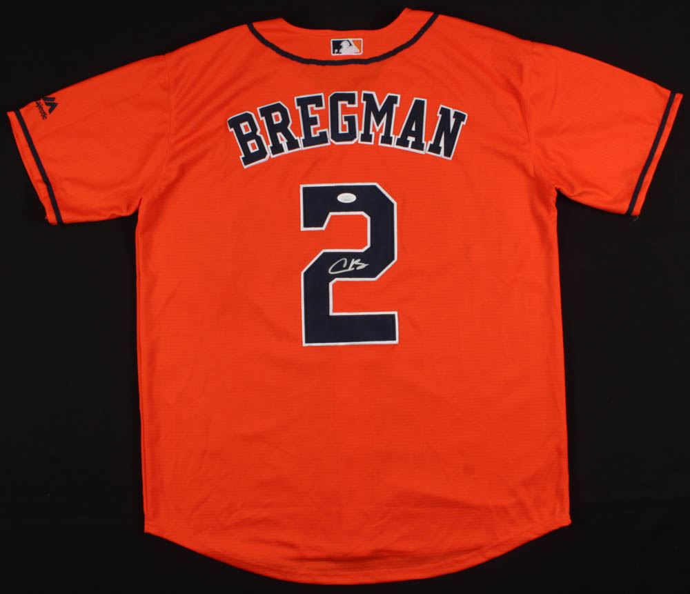 quality design b9e38 99d0a Alex Bregman Signed Houston Astros Jersey (JSA COA)