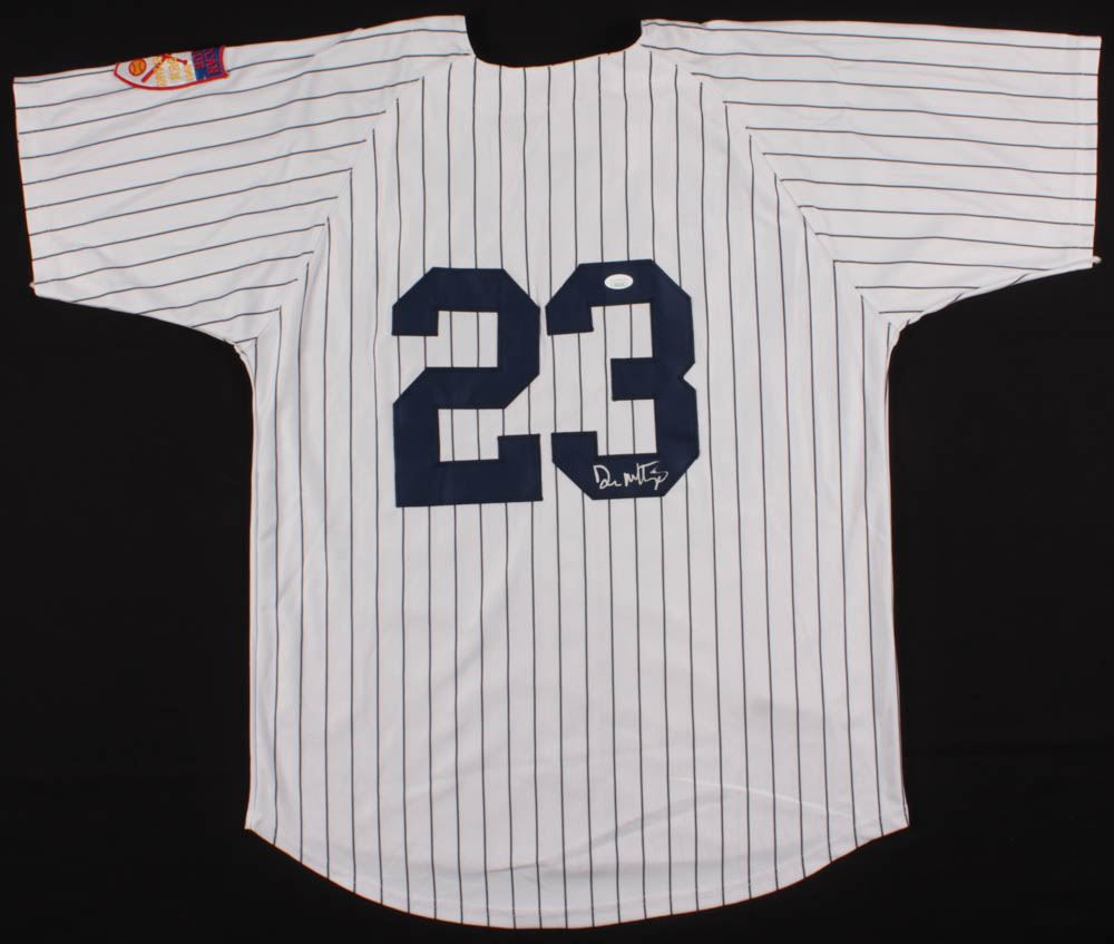 premium selection 0566f 43efd Don Mattingly Signed New York Yankees Jersey (JSA COA)
