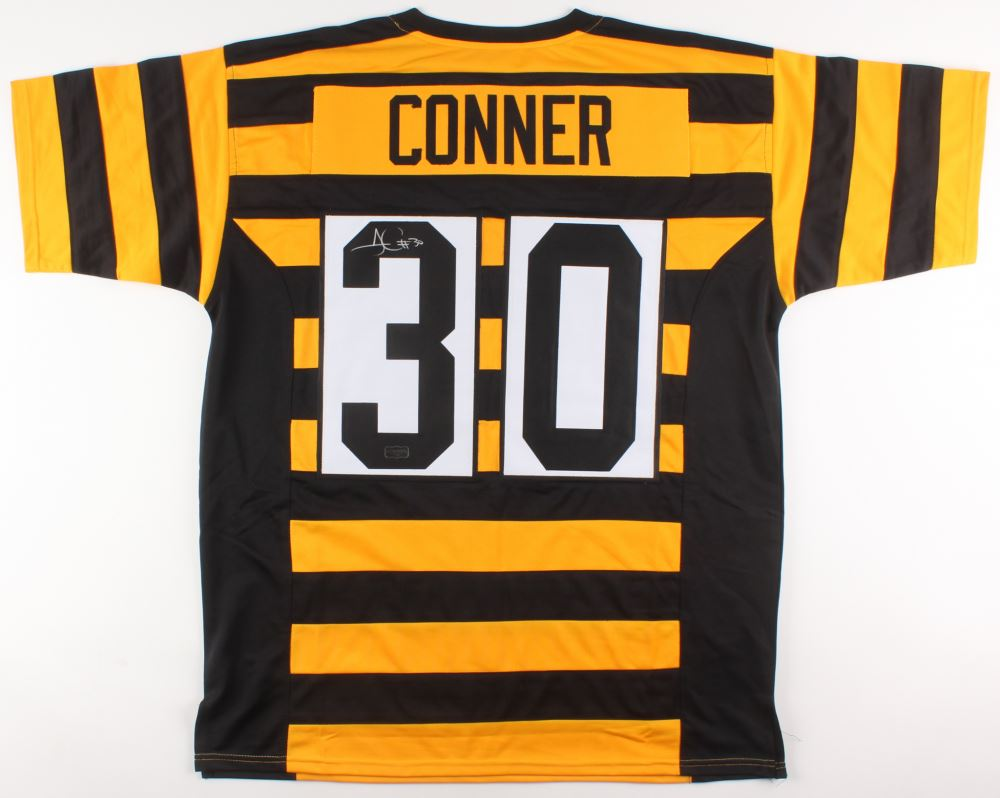 premium selection 614ed 44e98 James Connor Signed Pittsburgh Steelers Throwback Jersey ...