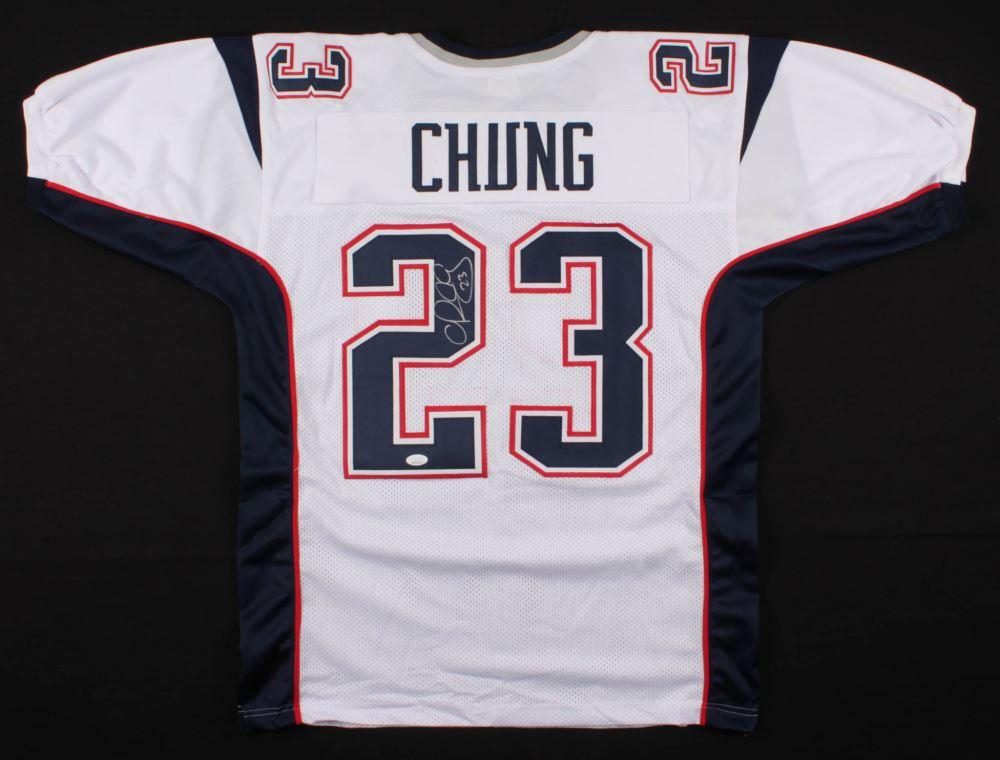 timeless design 16335 77722 Patrick Chung Signed New England Patriots Jersey (JSA COA)