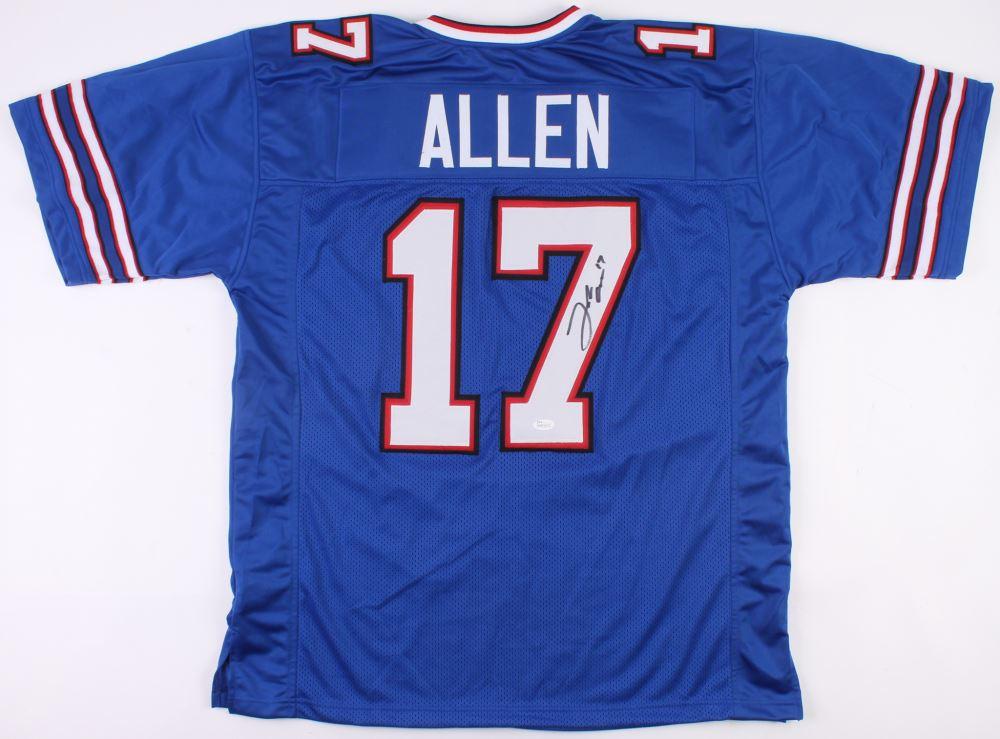 huge selection of 6ab79 07368 Josh Allen Signed Bills Jersey (JSA COA)