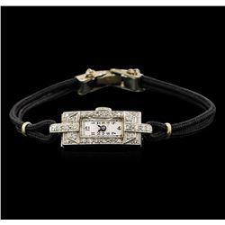 Vintage Eloga Diamond Ladies Watch