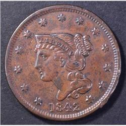 1842 LARGE CENT, AU
