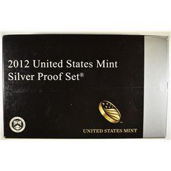 2012 U.S. SILVER PROOF SET IN ORIG PACKAGING