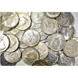 $15.00 FACE VALUE 40% SILVER KENNEDY HALF DOLLARS