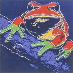 Andy Warhol American Pop Art Lithograph Frog