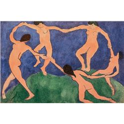 Henri Matisse French Fauvist Signed Litho 38/100