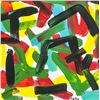 Image 1 : Fernand Leduc Canadian Abstract Oil on Canvas