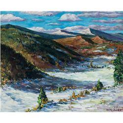 Igor Darr Canadian born 1959 School Oil on Canvas
