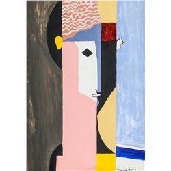 Louis Marcoussis Polish Cubist Oil on Canvas