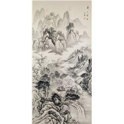 Wang Hui 1632-1717 Chinese Ink Landscape
