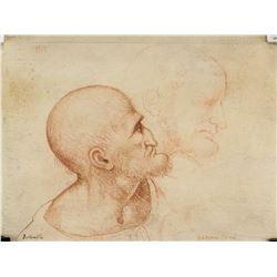 "Boltraffio ""Ultima Cena"" Portrait Sketch of Man"