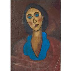 Amedeo Modigliani Italian Fauvist OOC Portrait