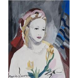 Marie Laurencin French Expressionist Gouache Paper