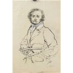 Jean-Auguste Ingres French Neoclassicism Graphite