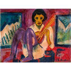 Ernst Ludwig Kirchner German Expressionst Oil