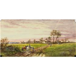 Norman Bradley British Watercolor Landscape