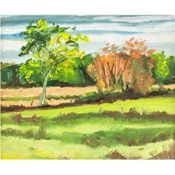 Francis Fournier Canadian Oil on Canvas Landscape