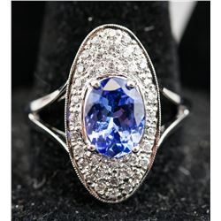 2.00ct Tanzanite Ring CRV $2250