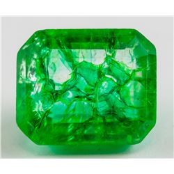 12.50 ct Natural Green Emerald w/ GGL Certificate