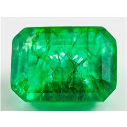 12.65 ct Natural Green Emerald w/ GGL Certificate