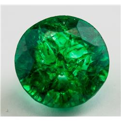14.10 ct Natural Green Emerald w/ GGL Certificate