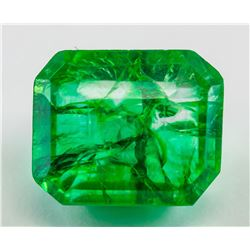 16.75ct Natural Emerald Gemstone GGL Certificate
