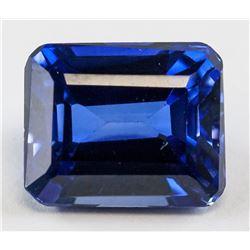 7.20 ct Natural Blue Sapphire Gemstone Certificate