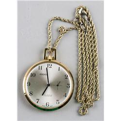 14k Gold Atronic 17 Jewels Pocket Watch