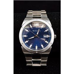 Bulova Stainless Steel Watch RV $300