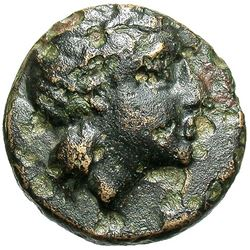 350 BC Mysia Gambrion Bronze Coin