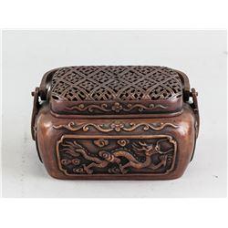 Chinese Bronze Hand Warmer Ming MK