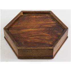 Chinese Yingyang Bird inlaid Rosewood Box