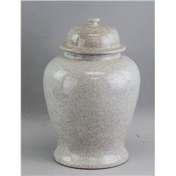 Porcelain Vase with Lid JUWC 1897 Marked