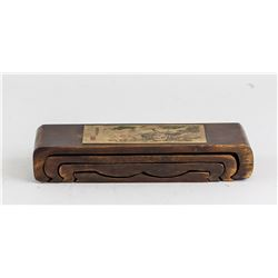 Chinese Wood Small Shelf Set