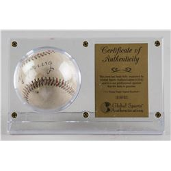 Cy Young Autographed Baseball with COA