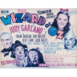 Vintage Reprint Lobby Card Wizard of OZ