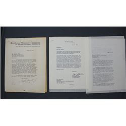 Ann C. Whitman Letter Signed as Secretary to the President on White House Letterhead; June 4, 1955