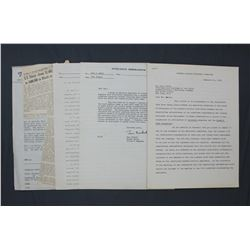 Lot of Colliers-related Documents and Memorandums, Ephemera, etc. From Magazine Cessation