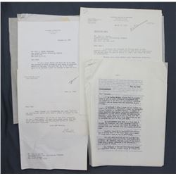 Lot of Crowell Collier and San Francisco Chronicle-related Documents, Letters, Ephemera, etc.