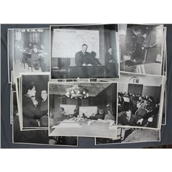 Lot of Press Photographs from Postwar Europe incl. USFA Restricted 1946 and Others