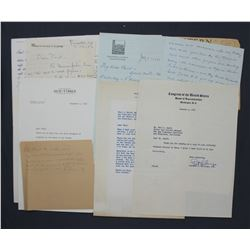Lot of Letters re: San Francisco Chronicle etc. incl. Signed George Cameron, Marshall Field Jr. etc